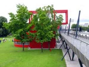 Parc la Villette Jardin